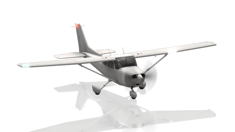 Cessna 172SP Version blanche