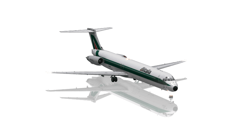 MD80 Version Alitalia