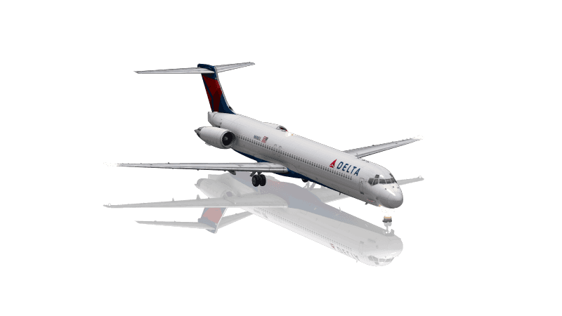 MD80 Version Delta Airlines